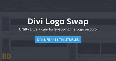 Divi Logo Swap Plugin