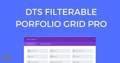 Filterable Portfolio Grid Pro Plugin