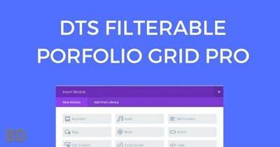 Filterable Portfolio Grid Pro Plugin