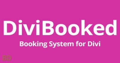 Divi Booked Plugin
