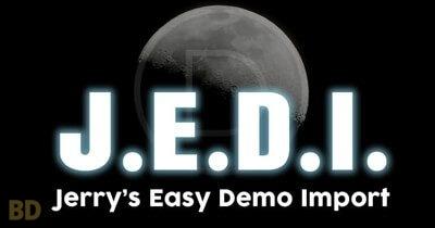 Jerrys Easy Demo Import Plugin