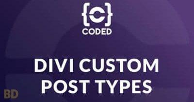 Divi Custom Post Types Plugin
