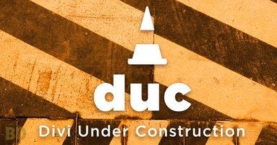 Divi Under Construction