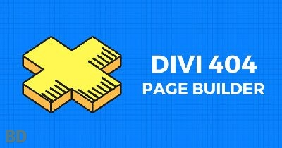 Divi 404 Page Builder Plugin