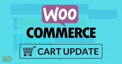 Woocommerce Cart Update Plugin