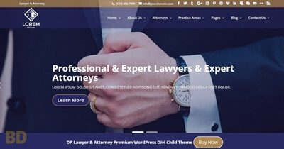 DP Lawyer Attorney Child Theme