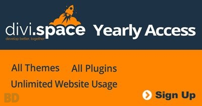 Divi Space Yearly Access