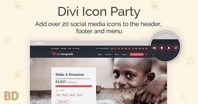 Divi Icon Party Plugin