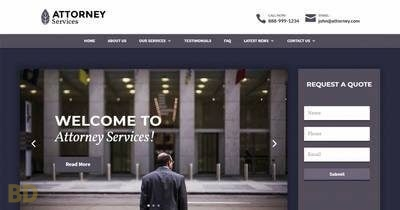 Attorney Services Divi Child Theme