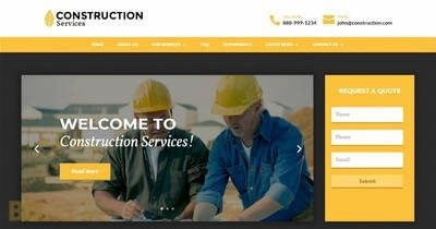 Construction Divi Child Theme