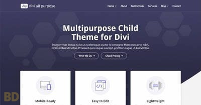 Divi All Purpose Child Theme