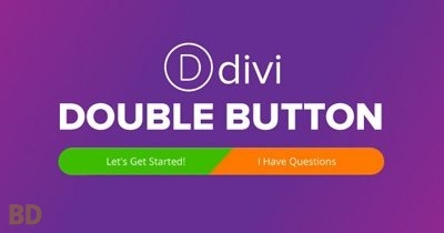 Divi Double Button Layout