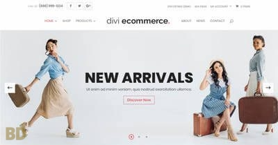Divi Ecommerce Child Theme