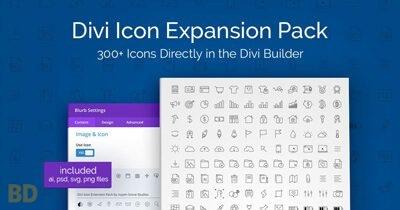 Divi Icon Expansion Pack Plugin
