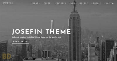 Josefin Superfly Childtheme