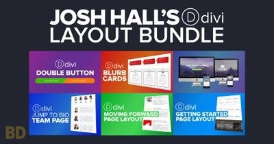 Josh Hall Divi Layout Bundle