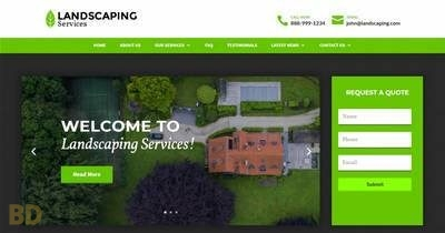 Landscaping Divi Child Theme