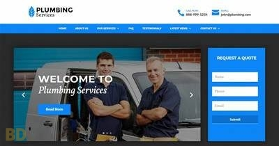 Plumbing Divi Child Theme