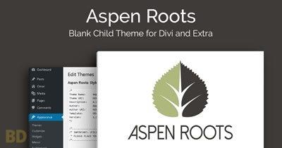 Aspen Roots Blank Child Theme