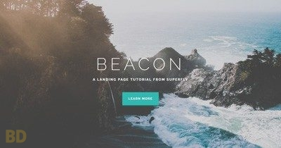 Beacon Superfly Landing Page Layout