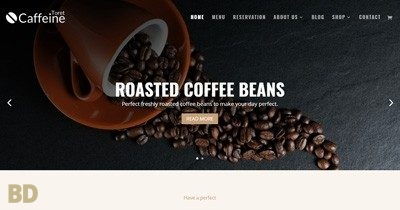 Caffeine Toretthemes