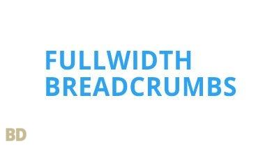 Fullwidth Breadcrumbs Module Optimusdivi