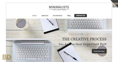 Minimalists Sunflower Childtheme