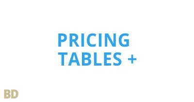 Pricing Tables Plus Module Optimusdivi