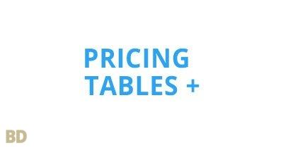 Pricing Tables Plus Module Optimusdivi