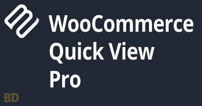 Woocommerce Quick View Pro Plugin